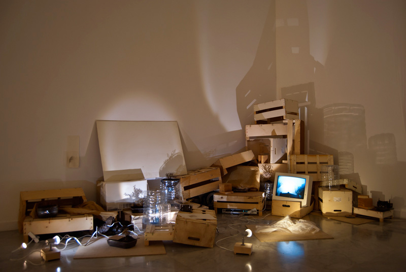 Ephemeral Architecture, Installation